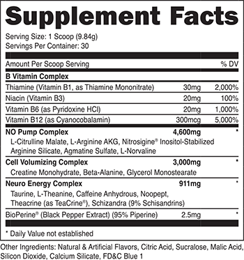 OxyPump SuppFacts