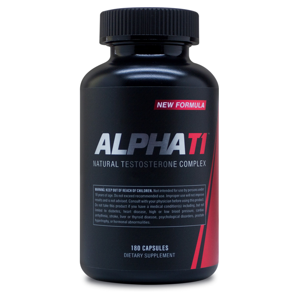 ALPHA T1 - Testosterone Booster - Testosterone Booster