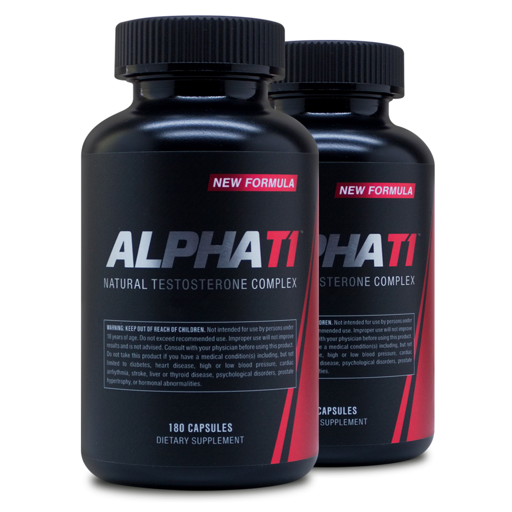 about Alpha T1 2pack - Testosterone Booster - Metabolism Booster