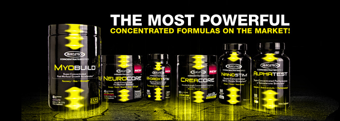 MuscleTech Concentrated Brand