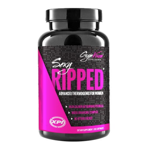 Gym Vixen Sexy Ripped 120 Caps Advanced Thermogenic For