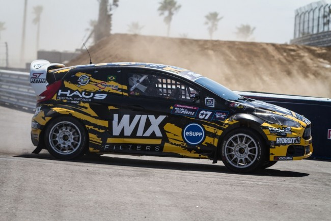 Side View of eSupps Sponsored Ford Fiesta ST