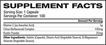 NOW Vitamin C-1000 Supplement Facts