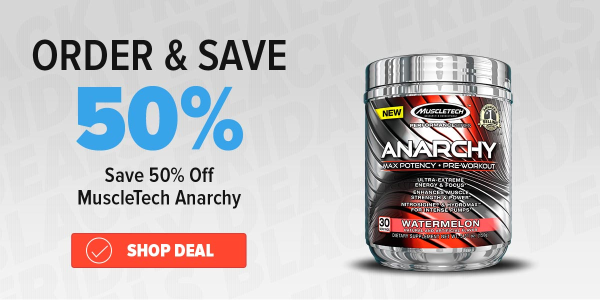 50% off anarchy Purchase Coupon Deal