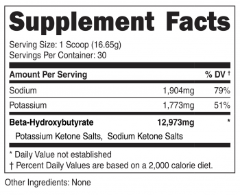 Ketone Salts 2-in-1 SuppFacts