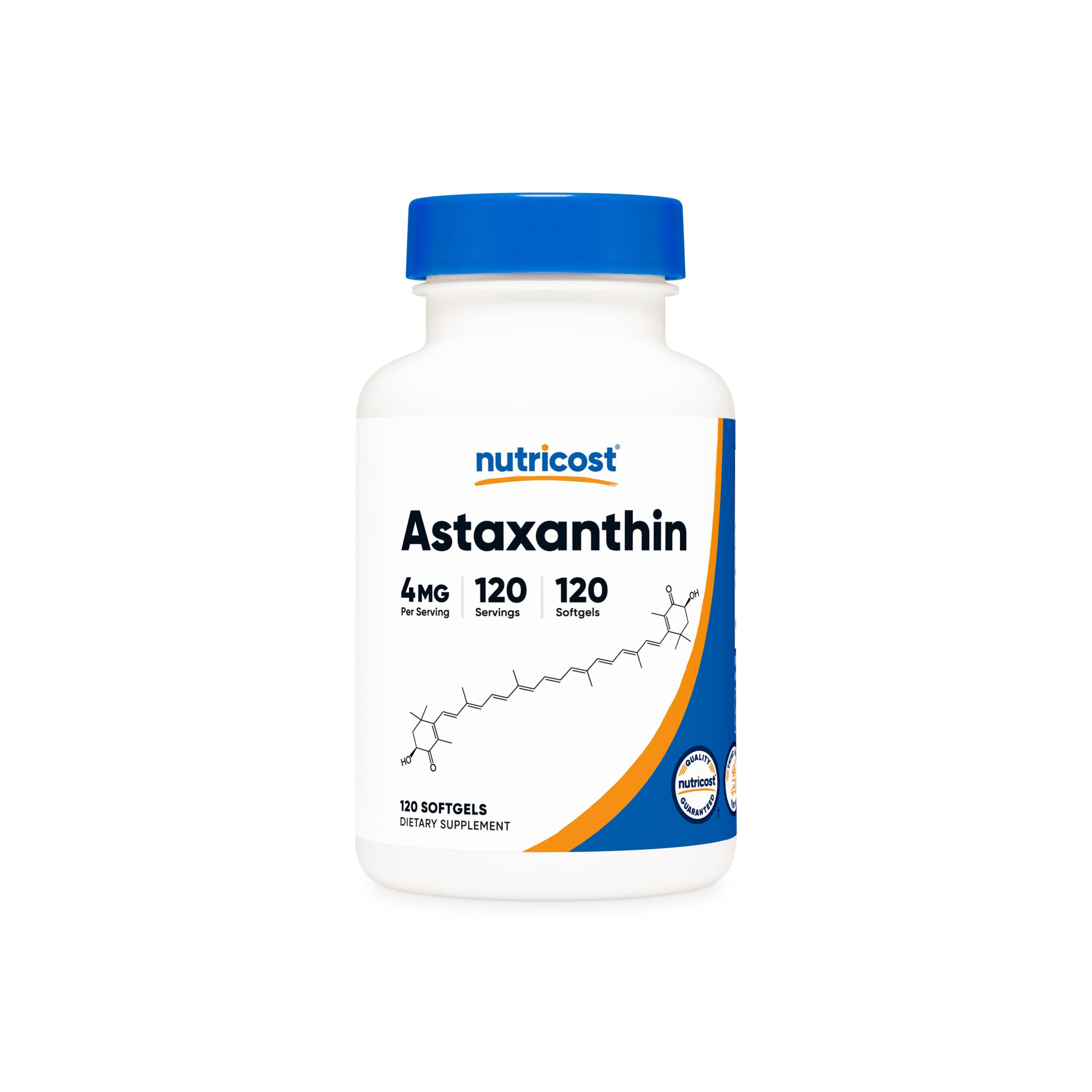 Astaxanthin 4mg Extract Supplement Facts